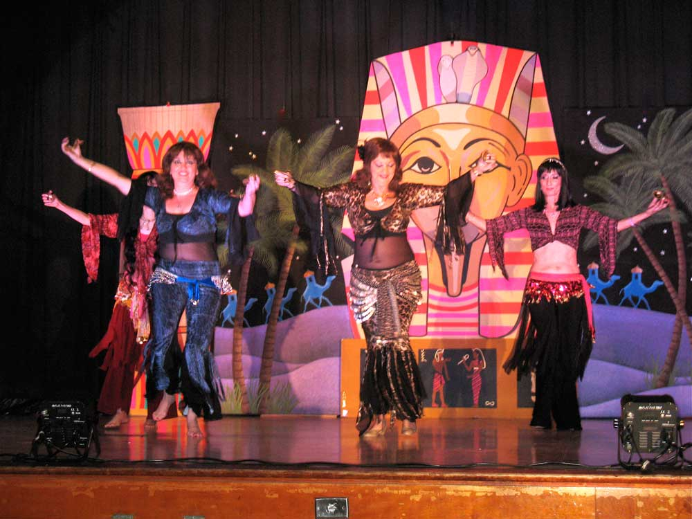 The Kismet Dancers of Miami opening 26th annual Miami bellydance event featuring Mesmera (Ca)